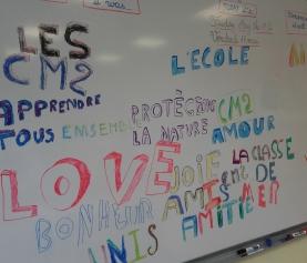 Classe de Cm2 : jeu collectif en Eps et projet Street Art
