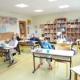 Classe de CM1-CM2, la rentrée de 8 élèves ce mardi 12 mai.