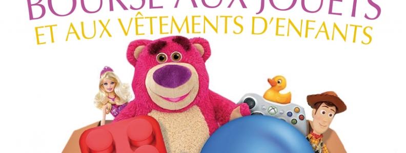Bourse aux jouets et aux vêtements d'enfant