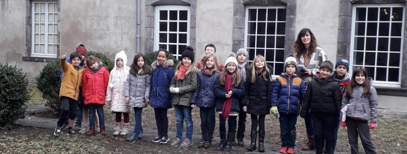 Les élèves de CE2 ont visité le musée régional d'Auvergne