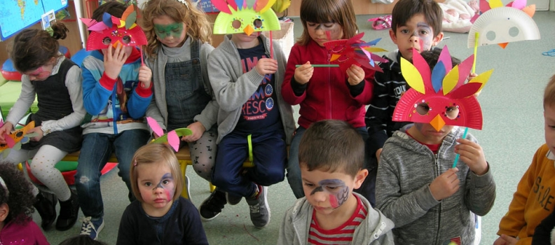 Carnaval en maternelle